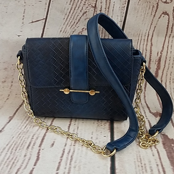 Handbags - Blue crossbody bag